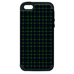 Lamont Tartan Apple iPhone 5 Hardshell Case (PC+Silicone)