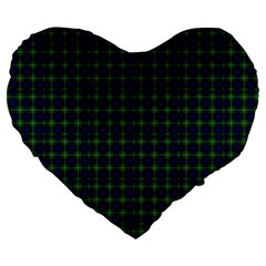 Lamont Tartan 19  Premium Heart Shape Cushion