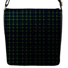 Lamont Tartan Flap closure messenger bag (Small)