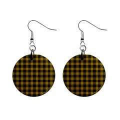 MacLeod Tartan Mini Button Earrings