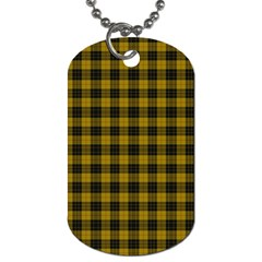 MacLeod Tartan Dog Tag (One Sided)