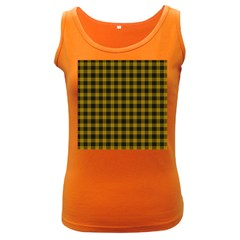 MacLeod Tartan Womens  Tank Top (Dark Colored)