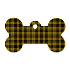 MacLeod Tartan Dog Tag Bone (Two Sided)