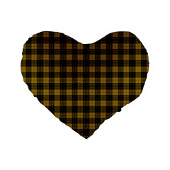 Macleod Tartan 16  Premium Heart Shape Cushion