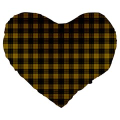 MacLeod Tartan 19  Premium Heart Shape Cushion