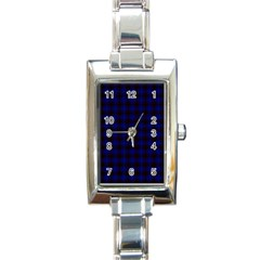 Homes Tartan Rectangular Italian Charm Watch