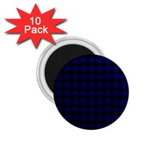 Homes Tartan 1 75  Button Magnet (10 Pack)