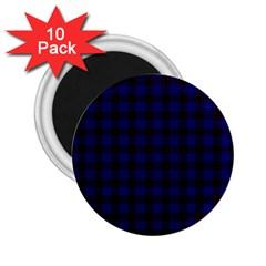 Homes Tartan 2.25  Button Magnet (10 pack)