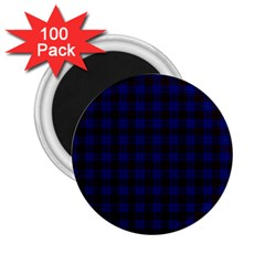 Homes Tartan 2.25  Button Magnet (100 pack)