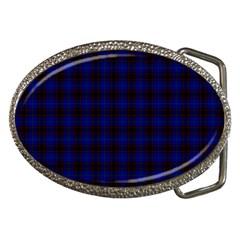 Homes Tartan Belt Buckle (Oval)