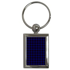 Homes Tartan Key Chain (Rectangle)