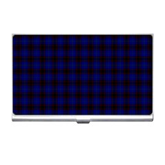 Homes Tartan Business Card Holder
