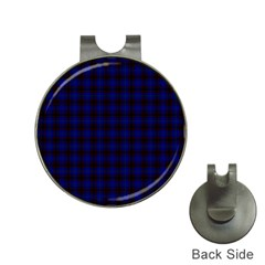 Homes Tartan Hat Clip with Golf Ball Marker