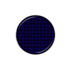 Homes Tartan Golf Ball Marker 4 Pack (for Hat Clip)