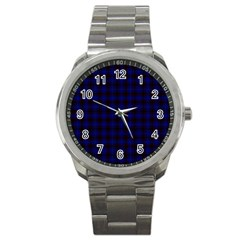 Homes Tartan Sport Metal Watch