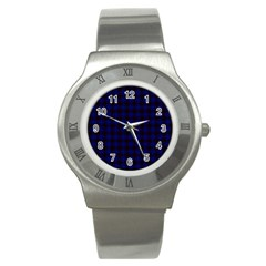 Homes Tartan Stainless Steel Watch (unisex)
