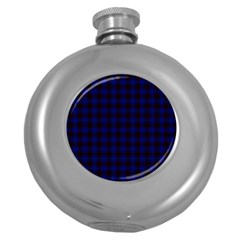 Homes Tartan Hip Flask (Round)
