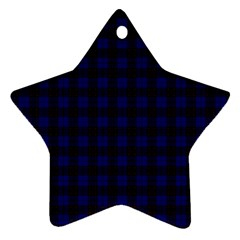 Homes Tartan Star Ornament (Two Sides)