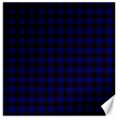 Homes Tartan Canvas 16  x 16  (Unframed)