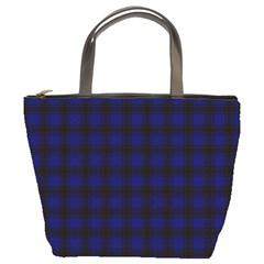 Homes Tartan Bucket Bag