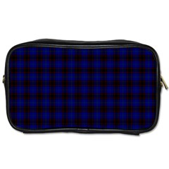Homes Tartan Travel Toiletry Bag (Two Sides)