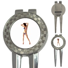 Usa Girl Golf Pitchfork & Ball Marker
