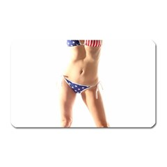 Usa Girl Magnet (rectangular)