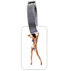 Usa Girl Luggage Tag (one Side)