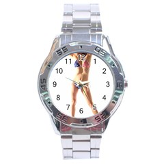 Usa Girl Stainless Steel Watch (men s)