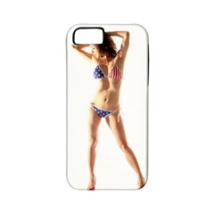 Usa Girl Apple iPhone 5 Classic Hardshell Case (PC+Silicone)