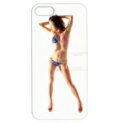 Usa Girl Apple iPhone 5 Hardshell Case with Stand