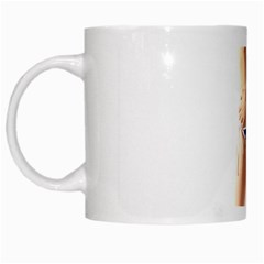 Usa Girl White Coffee Mug