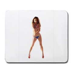 Usa Girl Large Mouse Pad (Rectangle)