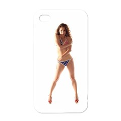 Usa Girl Apple Iphone 4 Case (white)