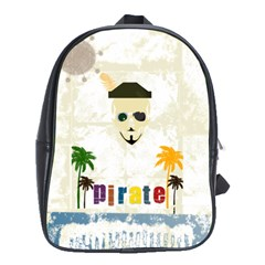 Pirate Party School Bag (Large)