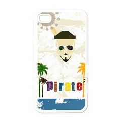 Pirate Party Apple iPhone 4 Case (White)