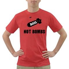 Drop bass not bombs Dark T-Shirt