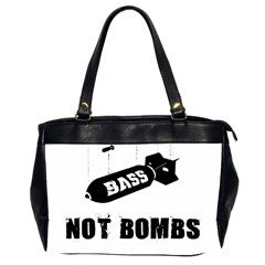 Bass2 Oversize Office Handbag (Two Sides)
