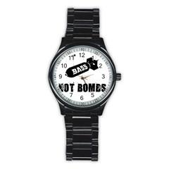 Bass2 Sport Metal Watch (black)
