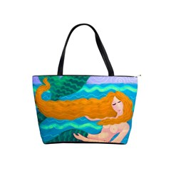 Lovely Mermaid Large Handbag