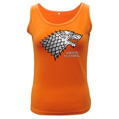 Winter is Coming ( Stark ) 2 Womens  Tank Top (Dark Colored)