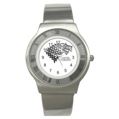 Winter is Coming ( Stark ) 2 Stainless Steel Watch (Unisex)
