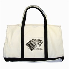 Winter is Coming ( Stark ) 2 Two Toned Tote Bag