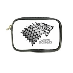 Winter is Coming ( Stark ) 2 Coin Purse