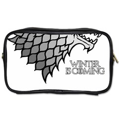 Winter is Coming ( Stark ) 2 Travel Toiletry Bag (One Side)