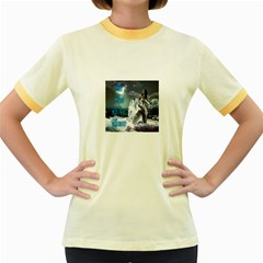 As The River Rises  Womens  Ringer T-shirt (Colored)