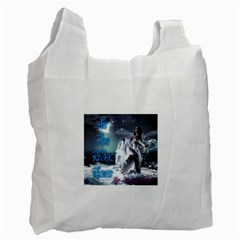 As The River Rises  Recycle Bag (One Side)
