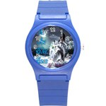 As The River Rises  Plastic Sport Watch (Small) Front