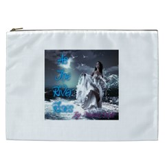 As The River Rises  Cosmetic Bag (XXL)
