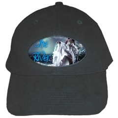 As The River Rises  Black Baseball Cap